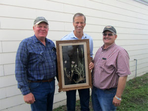 Jim Faulstich (Chair SDGC), John Thune (U.S. Senator), Judge Jessop ( SDGC Project Coordinator)